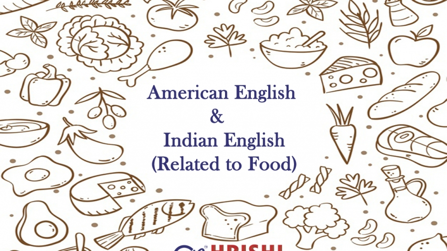 American english and british english related to food
