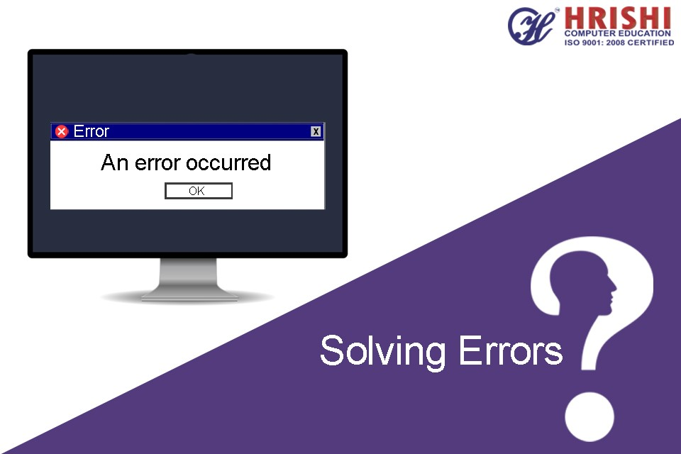how to solve errors