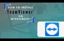 How to Install & Use Teamviewer