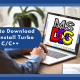 How to Download and Install Turbo C/C++