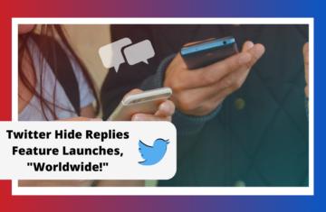 Twitter Hide Replies Feature