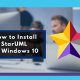 How to install StarUML ON WINDOWS 10