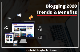 Blogging Trends and Benefits