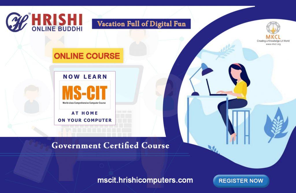 MSCIT online certification course