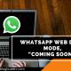 whatsup web dark mode