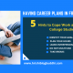 Having Career Plans in Freelance? 5 Hints to Cope Work along with College Studies