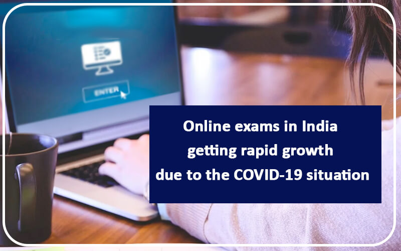 online exam in india