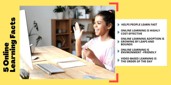 5 online learning facts