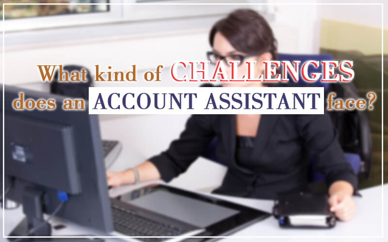What kind of challenges does an Account Assistant face?